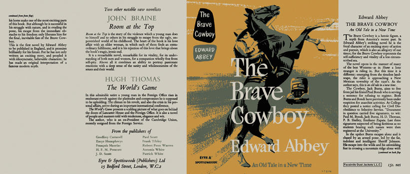 Brave Cowboy, The. Edward Abbey