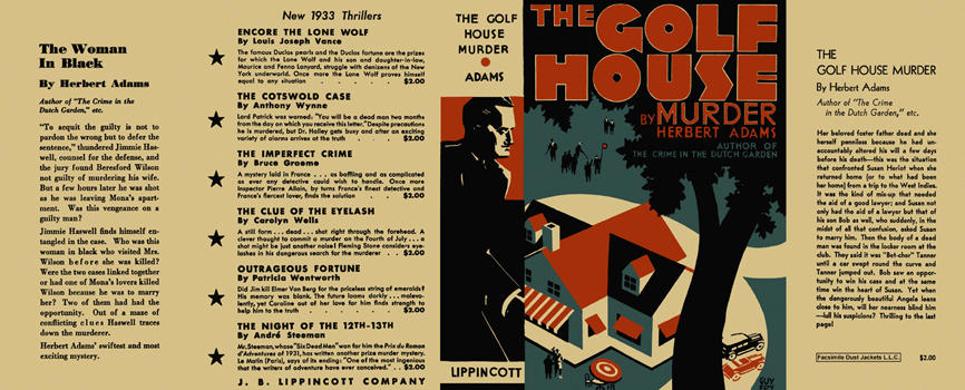 Golf House Murder, The. Herbert Adams