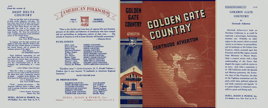 Golden Gate Country. Gertrude Atherton