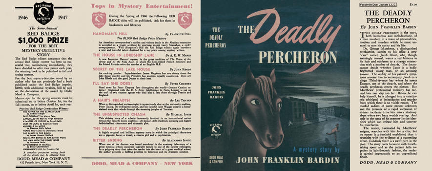 Deadly Percheron, The. John Franklin Bardin.