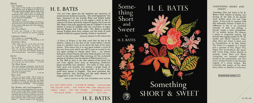 Something Short and Sweet. H. E. Bates