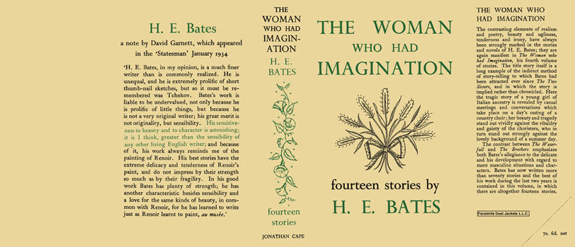 Woman Who Had Imagination, The. H. E. Bates
