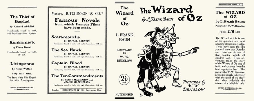 Wizard of Oz, The. L. Frank Baum, W. W. Denslow