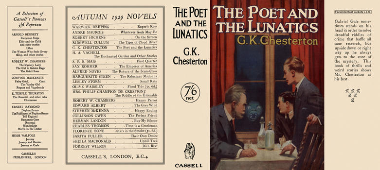 Search Results for: Author: G K Chesterton