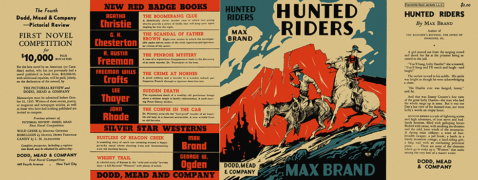 Hunted Riders. Max Brand.