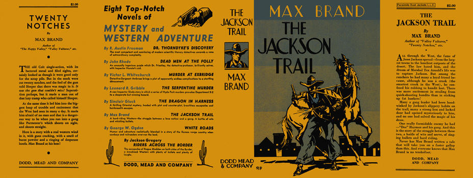 Jackson Trail, The. Max Brand.