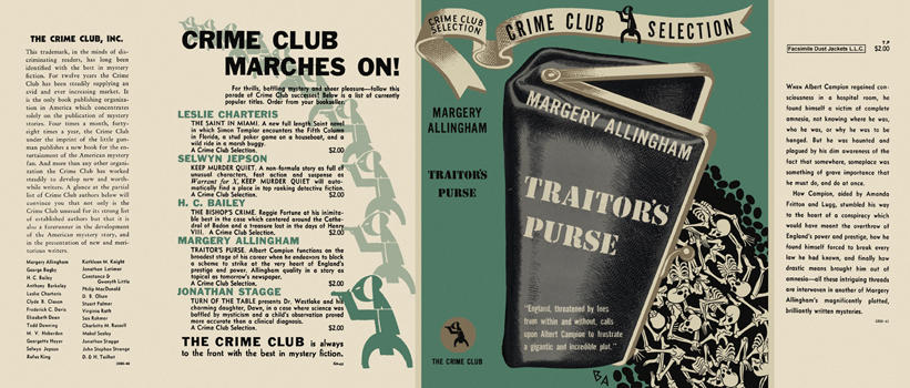 Traitor's Purse. Margery Allingham.