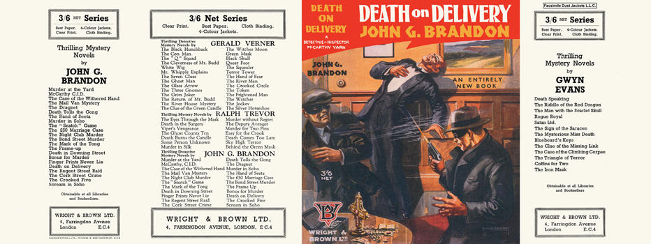 Death on Delivery. John G. Brandon.