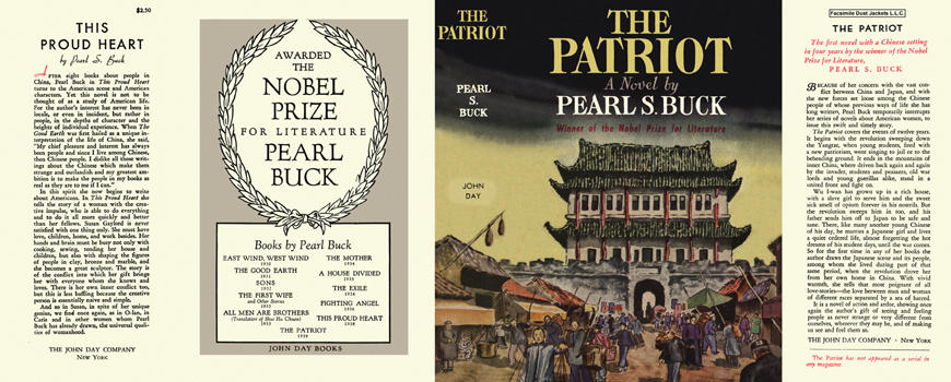 Patriot, The. Pearl S. Buck.