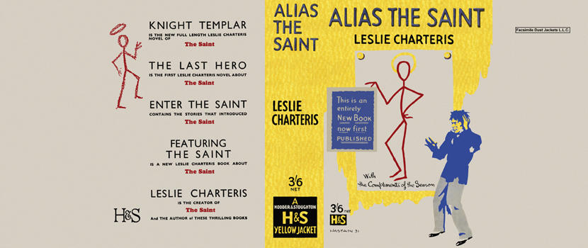 Alias the Saint. Leslie Charteris.