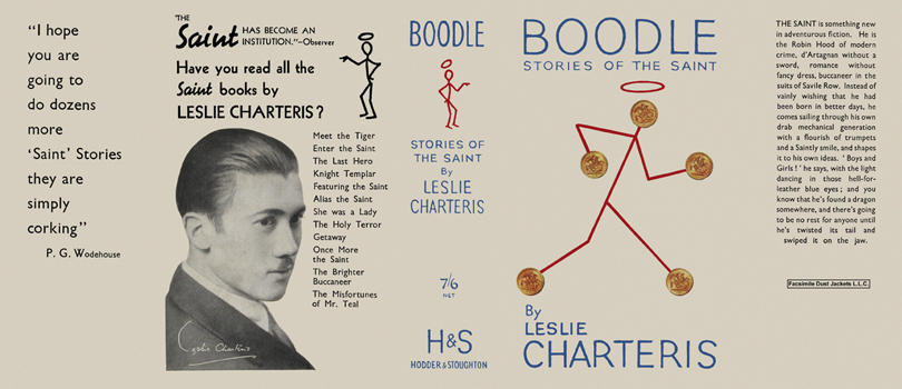 Boodle, Stories of the Saint. Leslie Charteris.