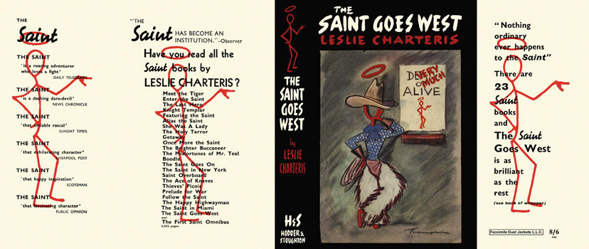 Saint Goes West, The. Leslie Charteris