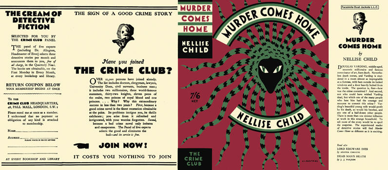 Murder Comes Home. Nellise Child.