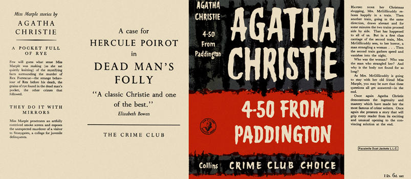 4-50 from Paddington. Agatha Christie