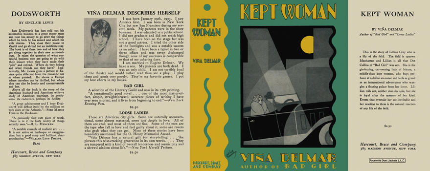 Kept Woman. Vina Delmar.