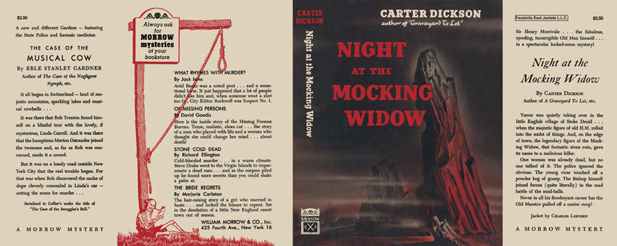 Night at the Mocking Widow. Carter Dickson