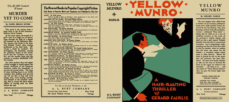 Yellow Munro. Gerard Fairlie