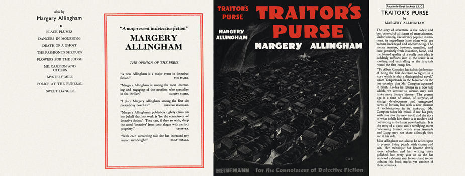 Traitor's Purse. Margery Allingham