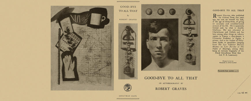 Good-Bye to All That. Robert Graves