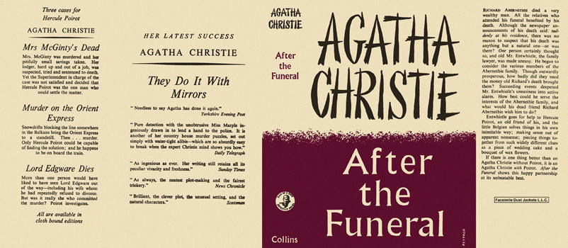 After the Funeral. Agatha Christie