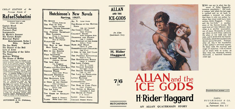 Allan and the Ice Gods. H. Rider Haggard.