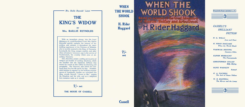 When the World Shook. H. Rider Haggard