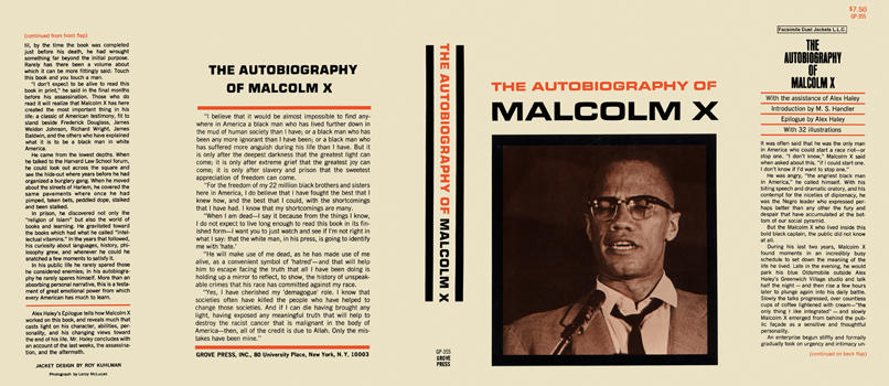 Autobiography of Malcolm X, The. Alex Haley, Malcolm X