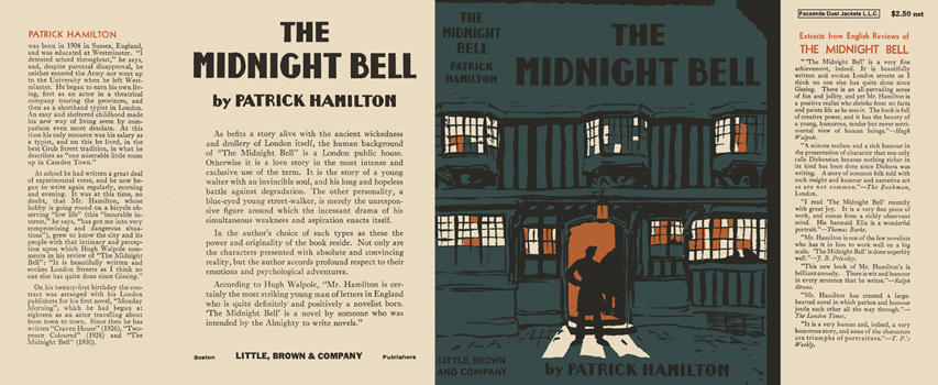 Midnight Bell, The. Patrick Hamilton.