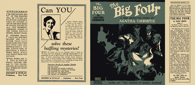 Big Four, The. Agatha Christie