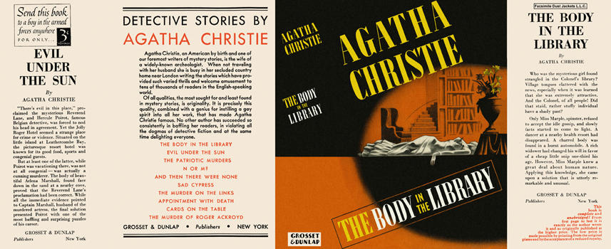 Body in the Library, The. Agatha Christie
