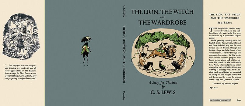 Lion, the Witch and the Wardrobe, The. C. S. Lewis.