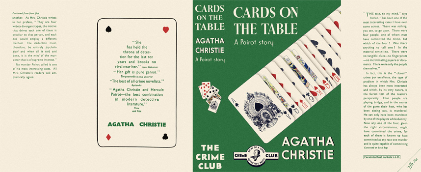 Cards on the Table. Agatha Christie