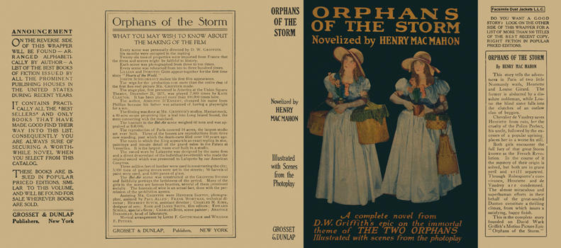 Orphans of the Storm. Henry MacMahon