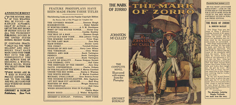 Mark of Zorro, The. Johnston McCulley