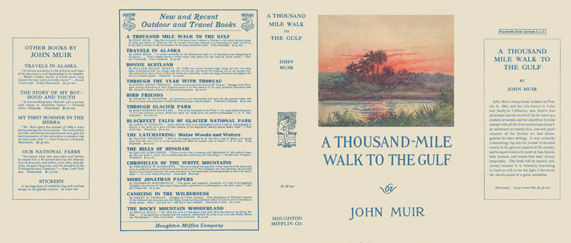 Thousand-Mile Walk to the Gulf, A. John Muir