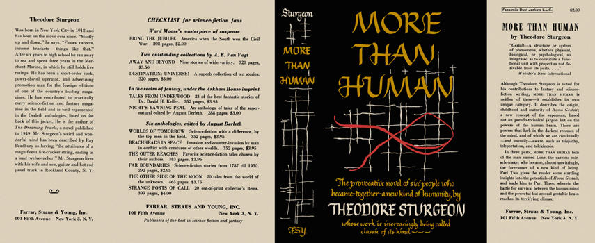 More Than Human. Theodore Sturgeon.