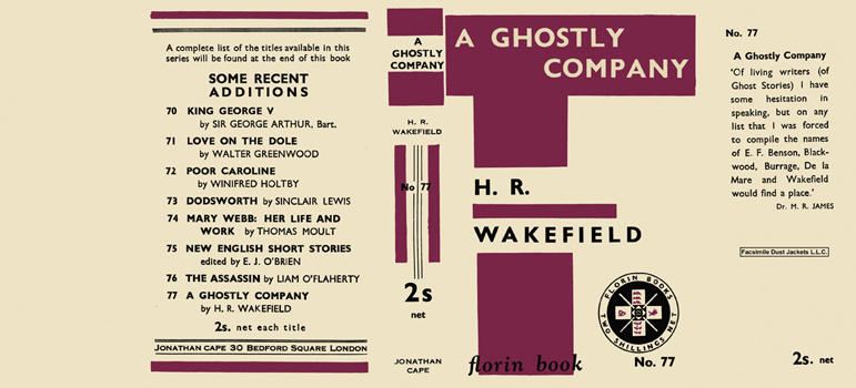 Ghostly Company, A. H. R. Wakefield