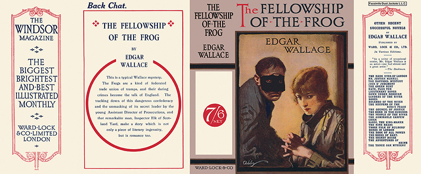 Fellowship of the Frog, The. Edgar Wallace.