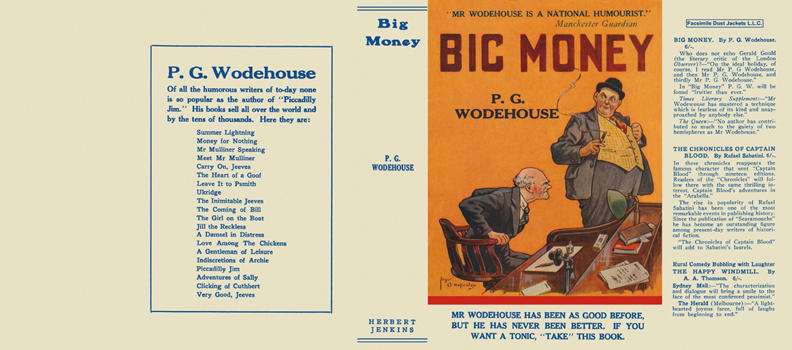 Big Money. P. G. Wodehouse.