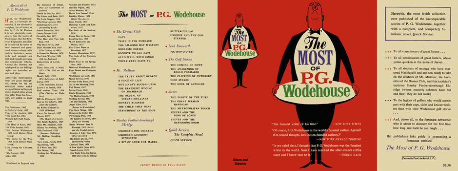 Most of P. G. Wodehouse, The. P. G. Wodehouse.