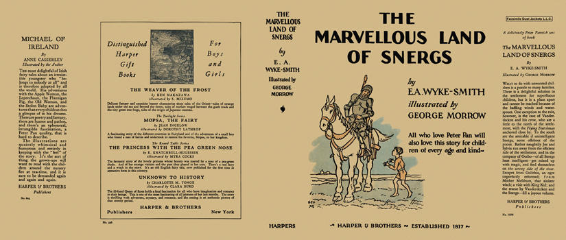 Marvellous Land of Snergs, The. E. A. Wyke-Smith, George Morrow