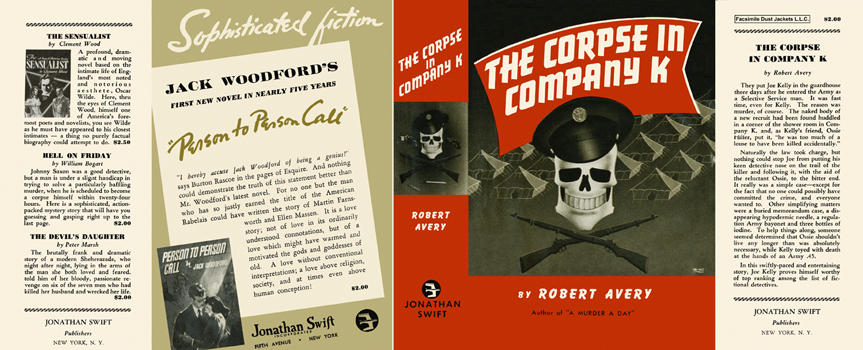 Corpse in Company K, The. Robert Avery