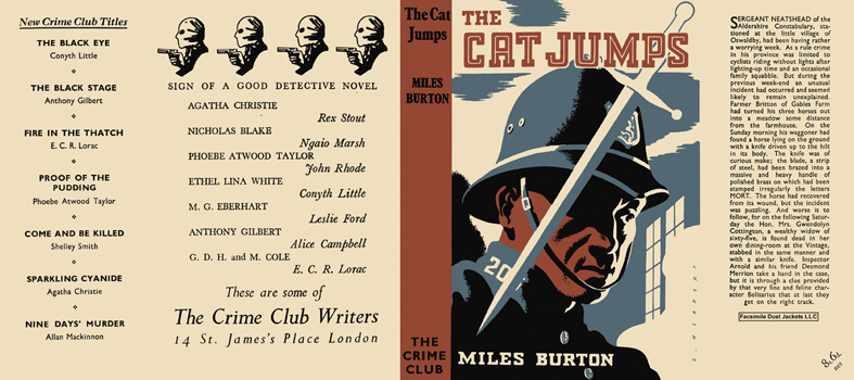 Cat Jumps, The. Miles Burton.