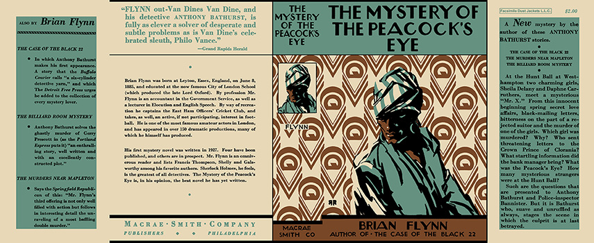 Mystery of the Pecock's Eye, The. Brian Flynn