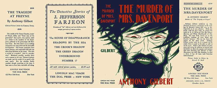 Murder of Mrs. Davenport, The. Anthony Gilbert