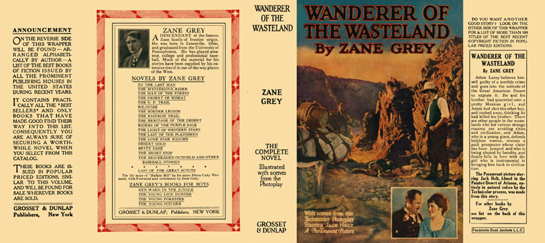 Wanderer of the Wasteland. Zane Grey