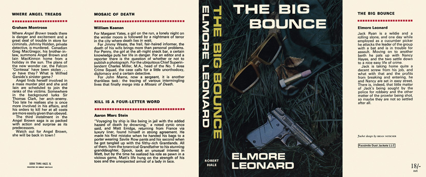 Big Bounce, The. Elmore Leonard