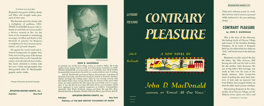 Contrary Pleasure. John D. MacDonald.