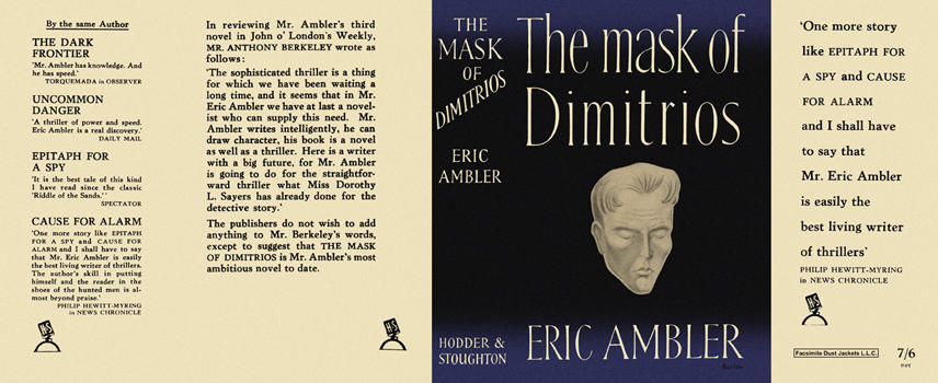 Mask of Dimitrios, The. Eric Ambler