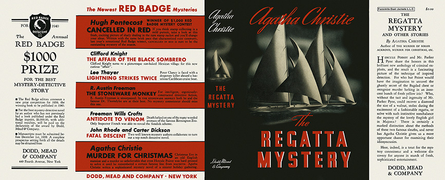 Regatta Mystery, The. Agatha Christie.